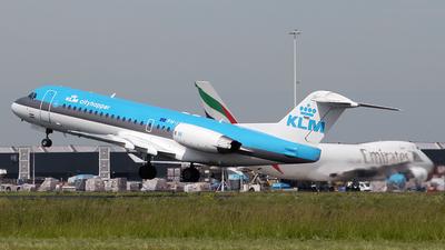 PH-JCH - Fokker 70 - KLM Cityhopper