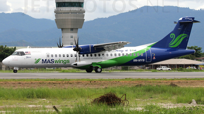 A picture of 9MMYB - ATR 72600 - [1153] - © Dayaa Ramanaa