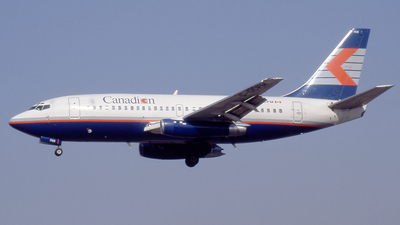 C-GCPM - Boeing 737-217(Adv) - Canadian Airlines International