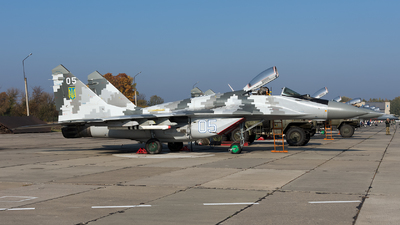 05 - Mikoyan-Gurevich MiG-29M Fulcrum E - Ukraine - Air Force
