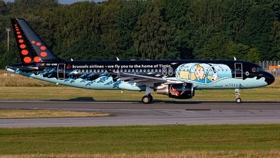 OO-SNB - Airbus A320-214 - Brussels Airlines