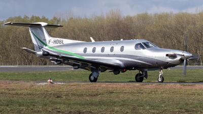 F-HDBL - Pilatus PC-12/47E - Private
