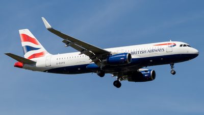 A picture of GEUYS - Airbus A320232 - British Airways - © Archie B