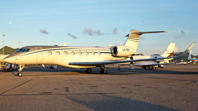 LX-RAY - Gulfstream G650ER - Global Jet Luxembourg