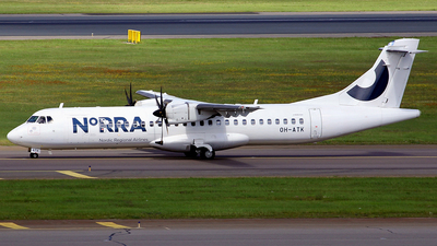 OH-ATK - ATR 72-212A(500) - Nordic Regional Airlines NORRA