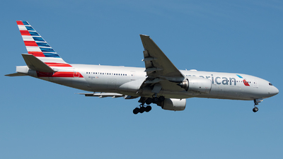 A picture of N751AN - Boeing 777223(ER) - American Airlines - © Stefan Bayer
