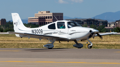 N3009 - Cirrus SR22-GTS - Private