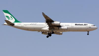 A picture of EPMMA - Airbus A340311 - Mahan Air - © nsxr_