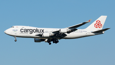 LX-ECV - Boeing 747-4HQERF - Cargolux Airlines International