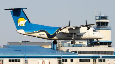A picture of CGRGI - De Havilland Canada Dash 8100 - Perimeter Aviation - © C. v. Grinsven
