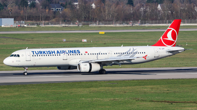 TC-JRY - Airbus A321-231 - Turkish Airlines