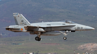 C.15-73 - McDonnell Douglas F/A-18A Hornet - Spain - Air Force
