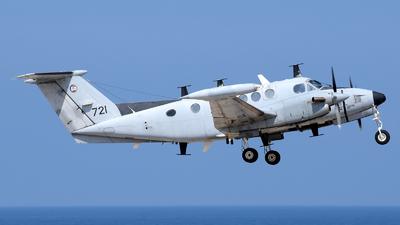 721 - Beechcraft B200T Zufit 4 - Israel - Air Force