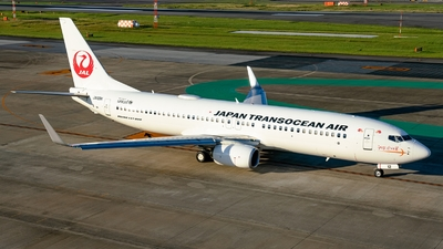 A picture of JA12RK - Boeing 7378Q3 - Japan Transocean Air - © S Waki