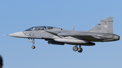 44 - Saab JAS-39D Gripen - Hungary - Air Force
