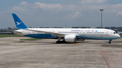 A picture of B7838 - Boeing 7879 Dreamliner - Xiamen Air - © Mr.Huang