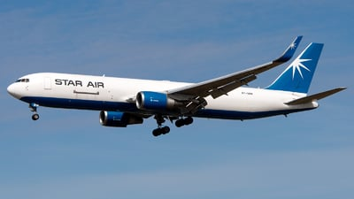 A picture of OYSRW - Boeing 767346F(ER) - Star Air - © GoldenWingPix