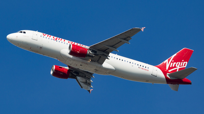 N636VA - Airbus A320-214 - Virgin America