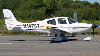 A picture of N147GT - Cirrus SR22 - [1069] - © Brian T Richards