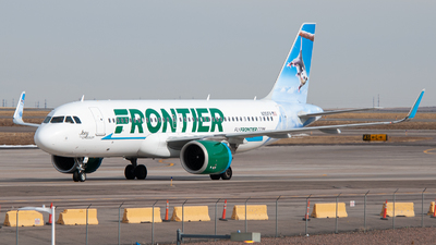 N351FR - Airbus A320-251N - Frontier Airlines