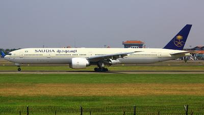 HZ-AK23 - Boeing 777-368ER - Saudi Arabian Airlines
