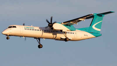 A picture of VHIYJ - De Havilland Canada Dash 8400 - National Jet Express - © Whiskey Tango Aviation