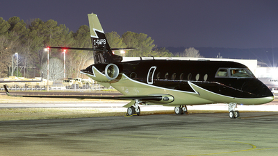 C-GWPB - Gulfstream G200 - Private