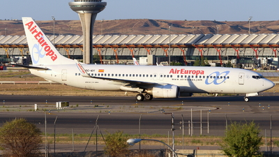 A picture of ECIDT - Boeing 73786Q - Air Europa - © Marcel Schmidt