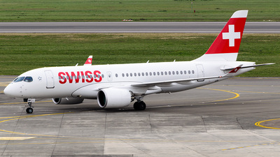 HB-JBF - Bombardier CSeries CS100  - Swiss