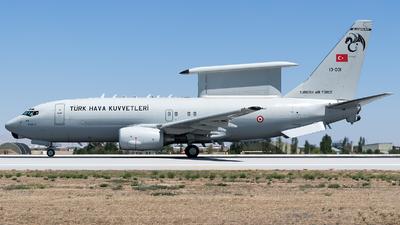 13-001 - Boeing 737-7ES Peace Eagle - Turkey - Air Force