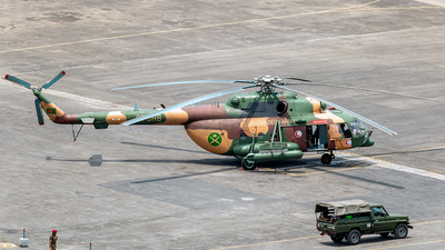 S3-BRB - Mil Mi-171Sh Baikal - Bangladesh - Army Aviation