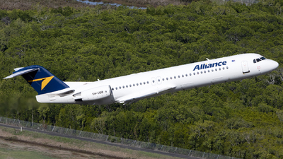 VH-UQB - Fokker 100 - Alliance Airlines