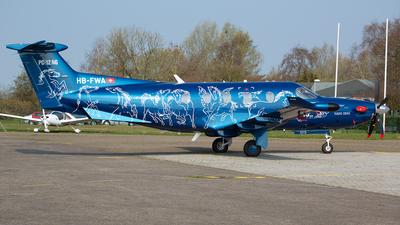 HB-FWA - Pilatus PC-12/47E - Pilatus Aircraft