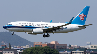 A picture of B5285 - Boeing 73771B - China Southern Airlines - © XPHNGB