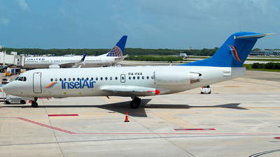 P4-FKA - Fokker 70 - Insel Air Aruba