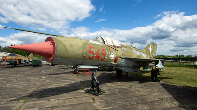 545 - Mikoyan-Gurevich MiG-21SPS Fishbed K - German Democratic Republic - Air Force