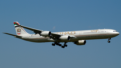A6-EHE - Airbus A340-642 - Etihad Airways