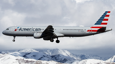 A picture of N184US - Airbus A321211 - American Airlines - © John Marzo
