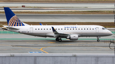N154SY - Embraer 170-200LR - United Express (SkyWest Airlines)