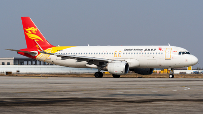 B-8171 - Airbus A320-214 - Capital Airlines