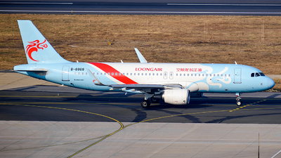 A picture of B8868 - Airbus A320214 - Loong Air - © MingyaoLeonardo