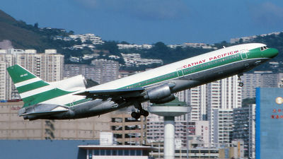 VR-HOC - Lockheed L-1011-1 Tristar - Cathay Pacific Airways