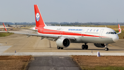 B-322T - Airbus A321-271N - Sichuan Airlines