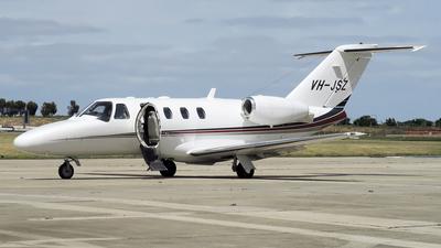 A picture of VHJSZ - Cessna 525 CitationJet CJ1+ - [5250670] - © George Canciani