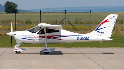 D-MCGD - Tecnam P92 Echo MkII - Ultraleicht Flugschule Kassel-Calden