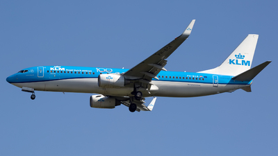 A picture of PHBGB - Boeing 7378K2 - KLM - © Chris Pitchacaren