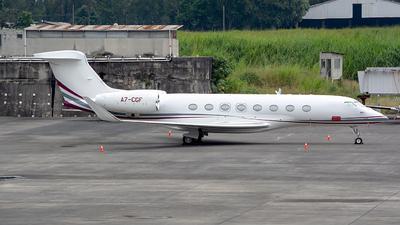 A7-CGF - Gulfstream G650ER - Qatar Executive