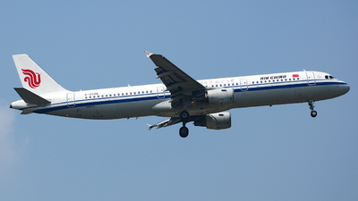 B-6596 - Airbus A321-213 - Air China