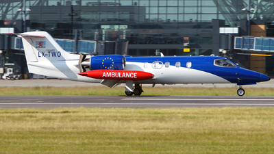 LX-TWO - Bombardier Learjet 45XR - Luxembourg Air Rescue (LAR)