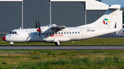 OY-RUF - ATR 42-500 - Danish Air Transport (DAT)